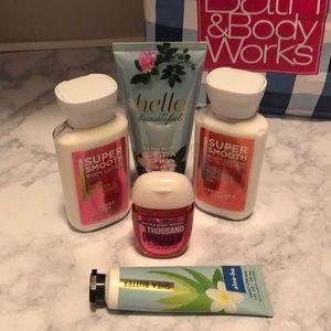 Mini lotion assortment
